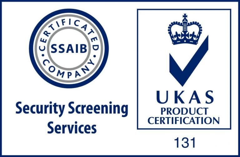 National Vetting Solutions UK are SSAIB Certified